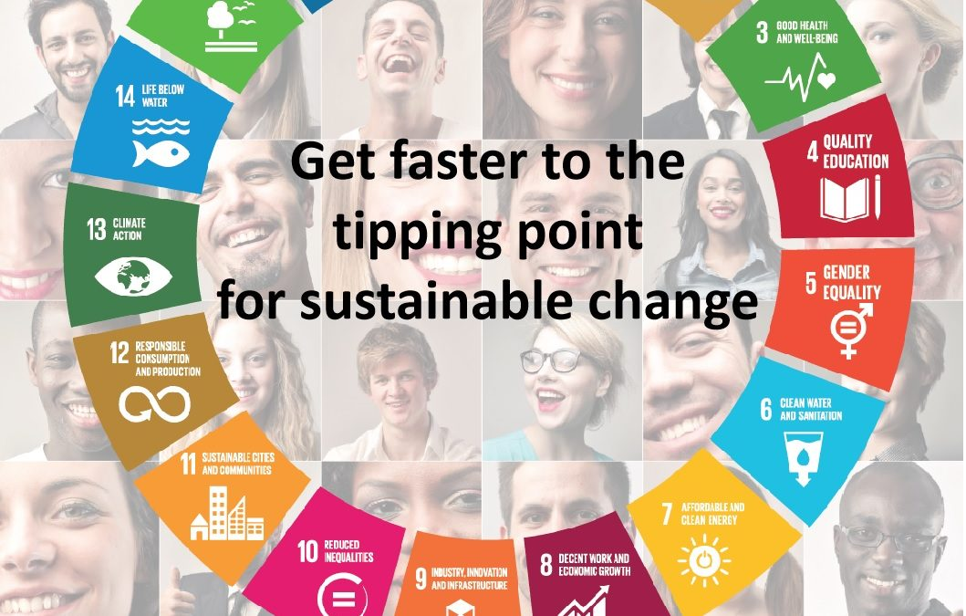 Get faster to the tipping point for sustainable change with Legacy17, scaling4good and Swiss Failure Plus Akademy